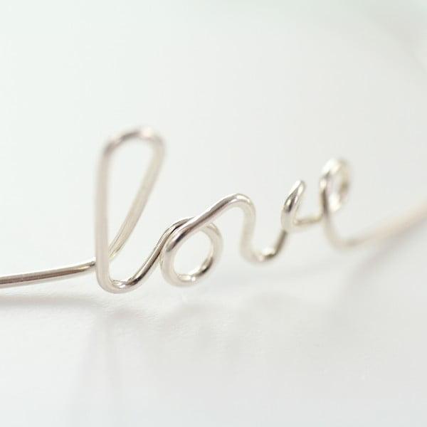 Náramek Love Silver