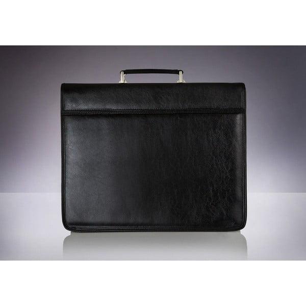 Pánská taška Solier Warsaw, černá