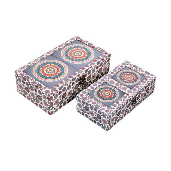 Sada 2 úložných krabiček Energy
