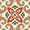 Samolepky Tile Art Beige Ornament