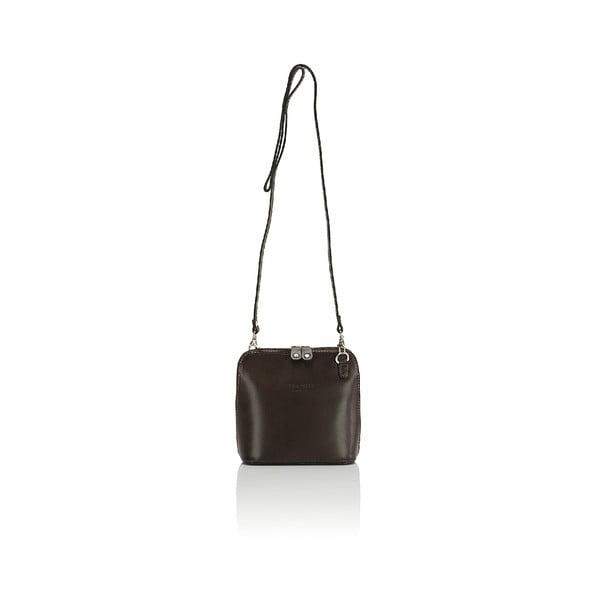 Kožená kabelka Giorgio Costa 15027 Dark Brown