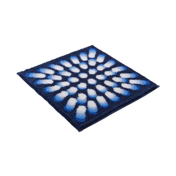 Koupelnová předložka Kolor My World VII 60x60 cm, modrá
