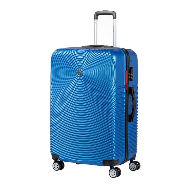 Sada 3 modrých cestovních kufrů na kolečkách Murano Traveller