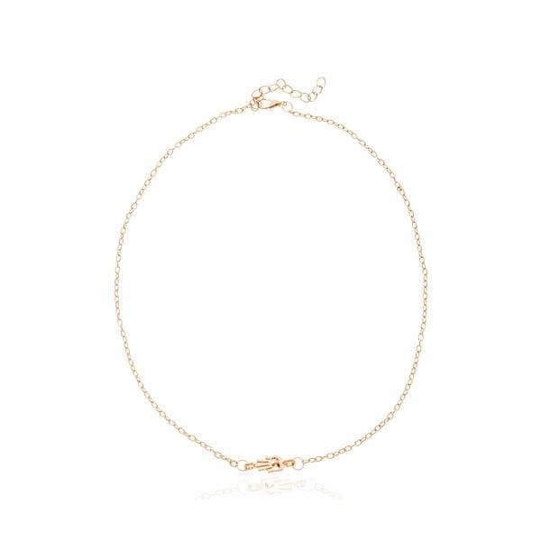 Dámský náhrdelník ve zlaté barvě NOMA Cynthia