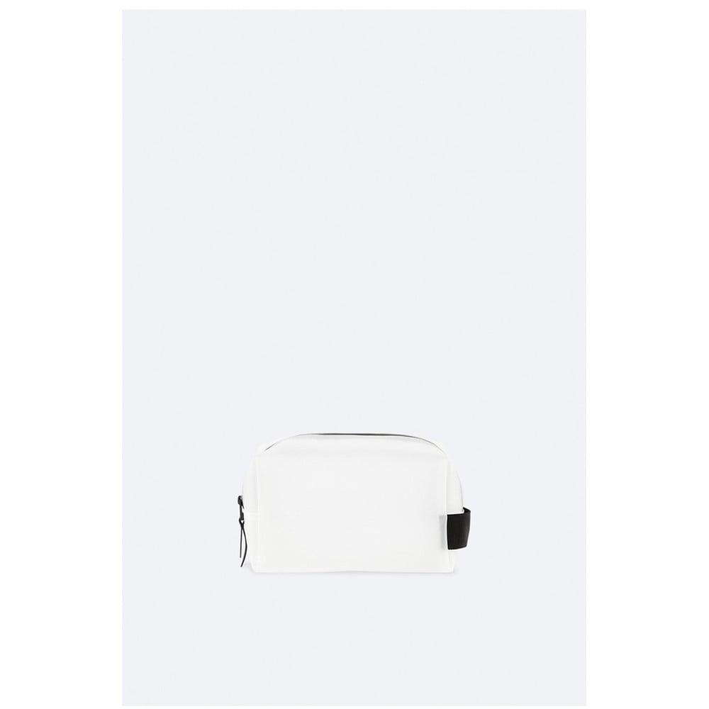 Bílá kosmetická taštička s vysokou voděodolností Rains Wash
