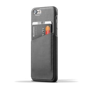 Peněženkový obal Mujjo Case na telefon iPhone 6 Gray
