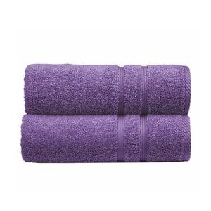 Osuška Sorema Basic Purple, 70x140 cm
