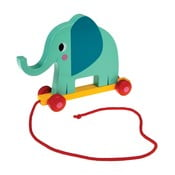 Dřevěná hračka Rex London Elvis The Elephant, délka18cm