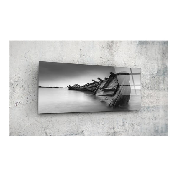 Sklenený obraz Insigne Glenn, 92 × 36 cm