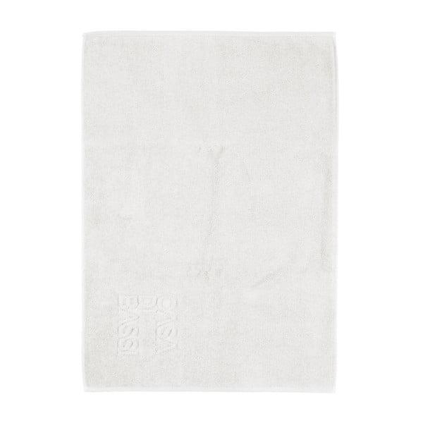 Biały dywanik łazienkowy z bawełny Casa Di Bassi Basic, 50x70 cm