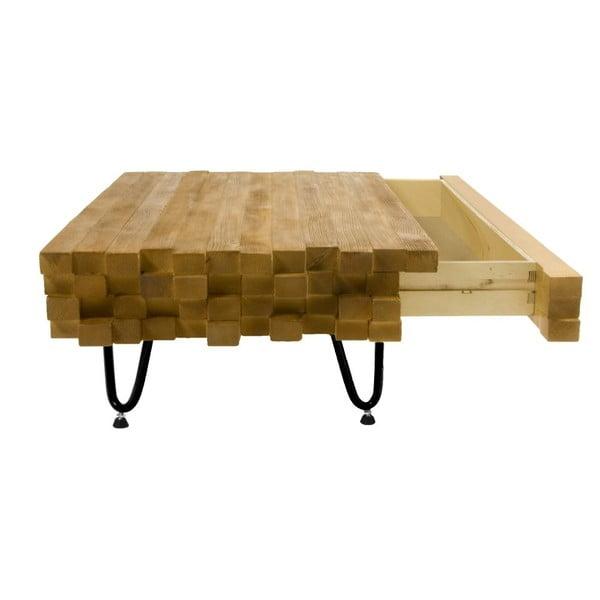 Konferenční stolek se zásuvkou Coffee Gie, 95x60x30 cm