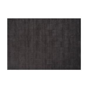 Vlněný koberec Luzern, 200x300 cm, tmavě šedý
