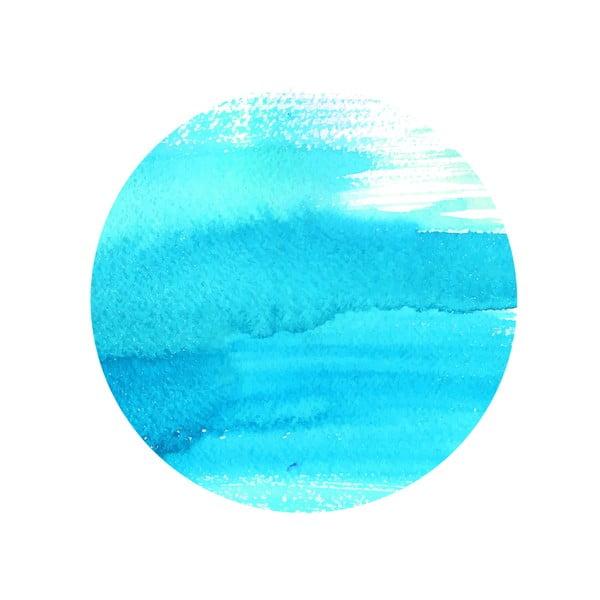 Sada 2 odkládacích stolků Turquoise Sea, 35 cm + 49 cm