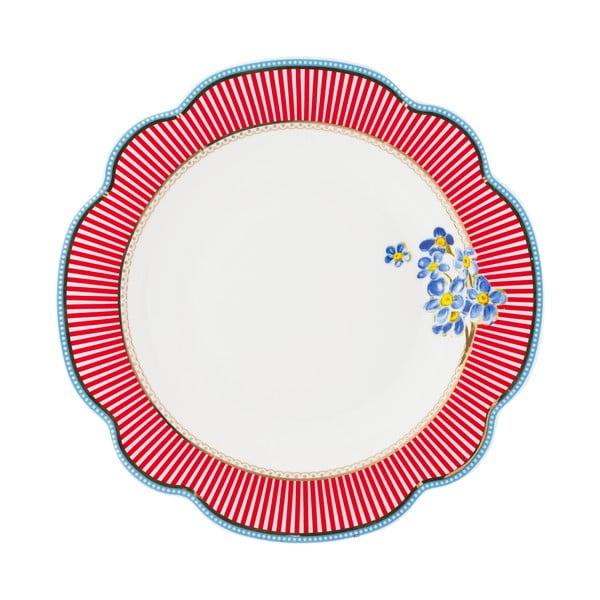 Porcelánový hluboký talíř Happy od Lisbeth Dahl, 24 cm, 2 ks