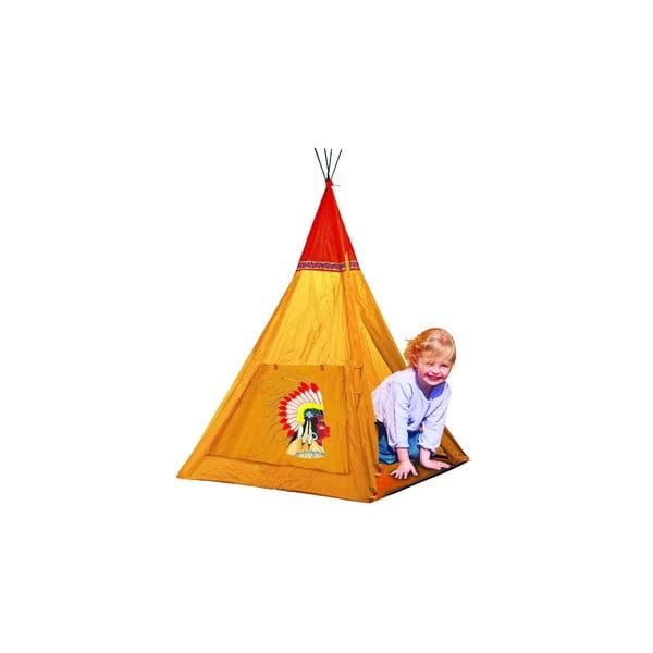 Dětský stan Indian, oranžový
