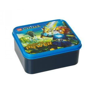 Svačinový box Legends of Chima, modrý