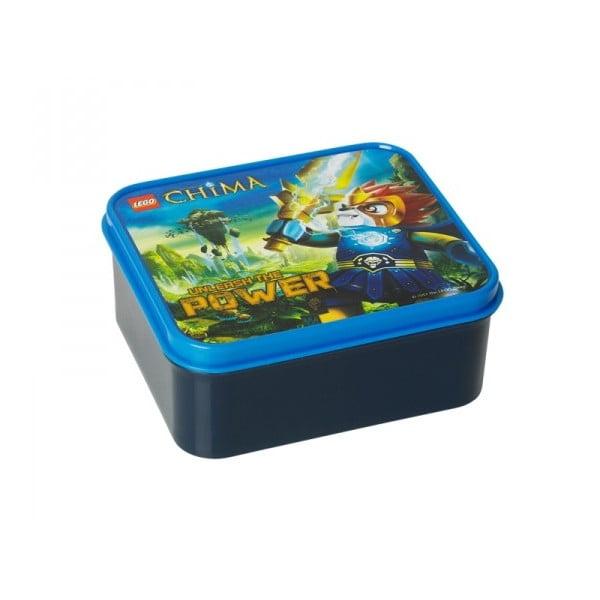 Láhev na pití a box na svačinu Legend of Chima, modré