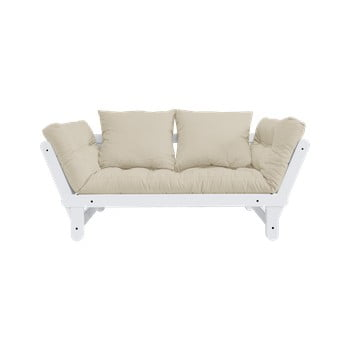 Canapea extensibilă Karup Design Beat White/Beige de la Karup Design