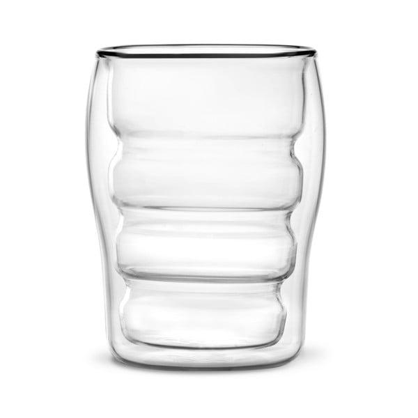 Mia 2 db-os duplafalú pohár szett, 300 ml - Vialli Design