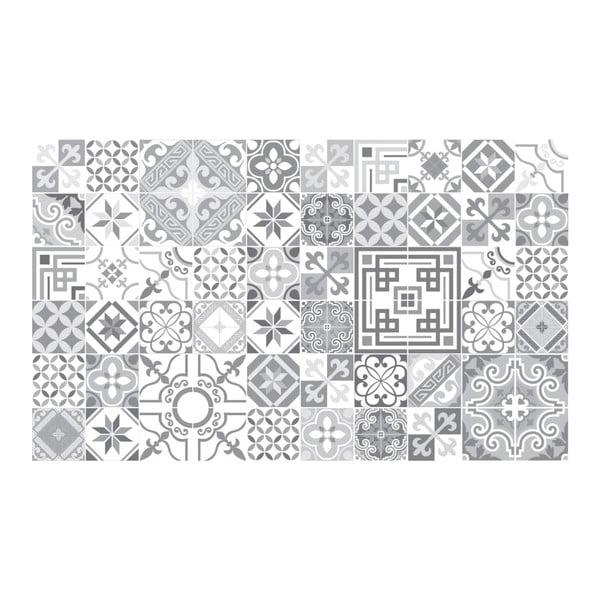 Sada 60 dekorativních samolepek na stěnu Ambiance Shades of Grey, 15 x 15 cm