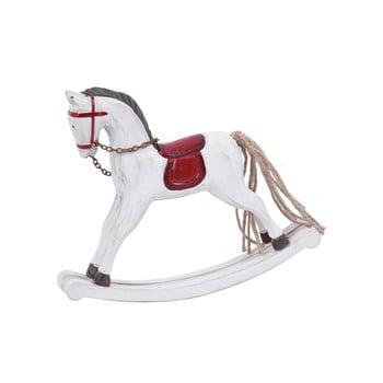 Decorațiune pentru Crăciun Ego Dekor Horse, alb