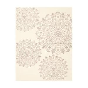 Pătură cu model Biederlack Mandala, 200 x 130 cm
