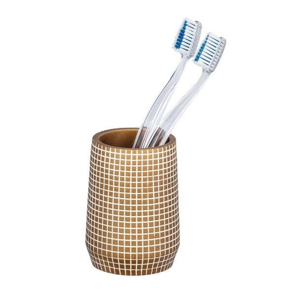 Ohrid aranyszínű fogkefetartó pohár - Wenko