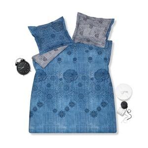 Povlečení na jednolůžko Jeans Blue 96, 140x220 cm