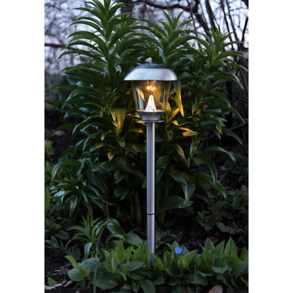 Zahradní světlo Solar Energy Path Light Slim Steel