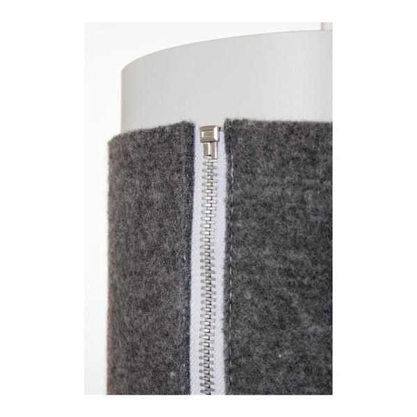 Závěsné svítidlo Zip Star Large, šedé