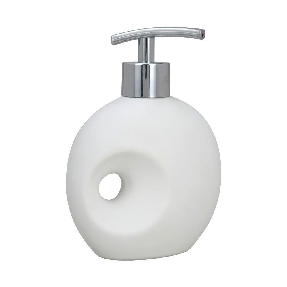 Bílý dávkovač mýdla Wenko Hole