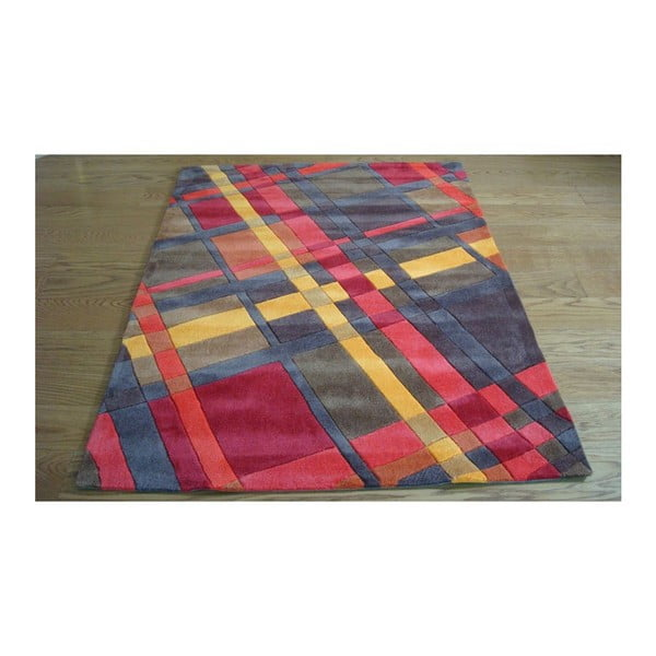 Koberec Plaid Orange, 80x150 cm