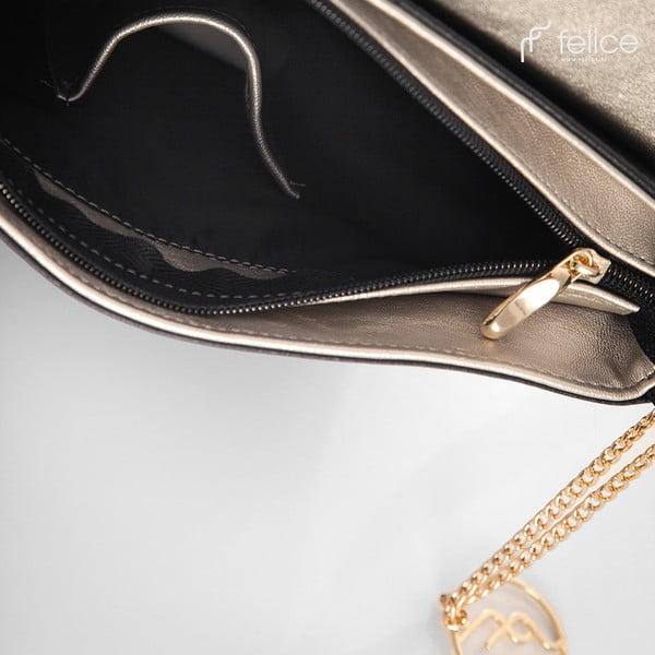 Kabelka Felice A11 Black/Gold