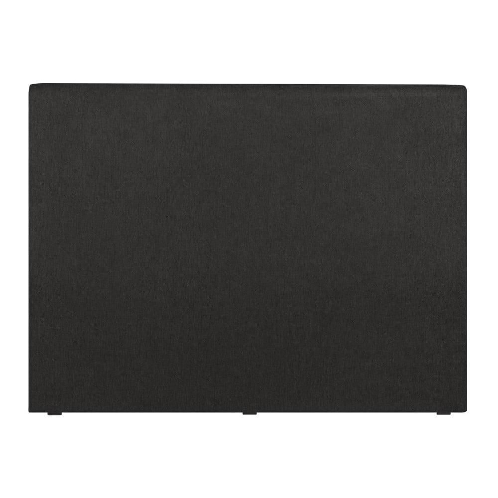 Černé čelo postele Windsor & Co Sofas, 140 x 120 cm