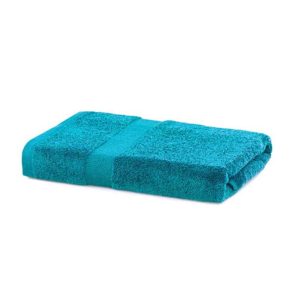 Turkusowy ręcznik DecoKing Marina, 70x140 cm
