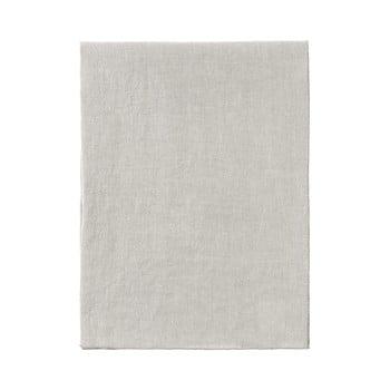 Napron / șervet din in pentru masă Blomus 140 x 45 cm, crem imagine