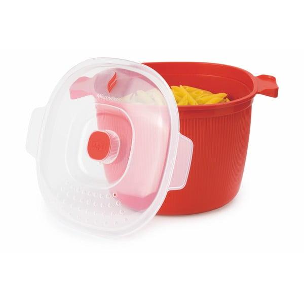 Zestaw do gotowania makaronu w mikrofalówce Snips Pasta Cooker, 4 l