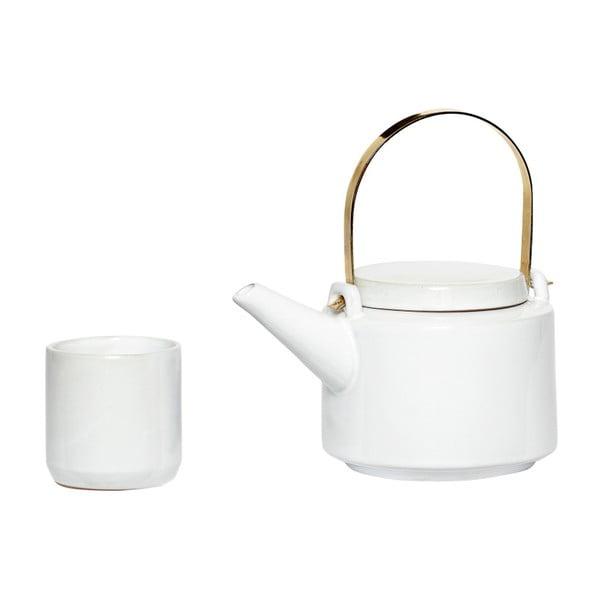 Ostis teáskanna és 5 db-os csészeszett - Hübsch