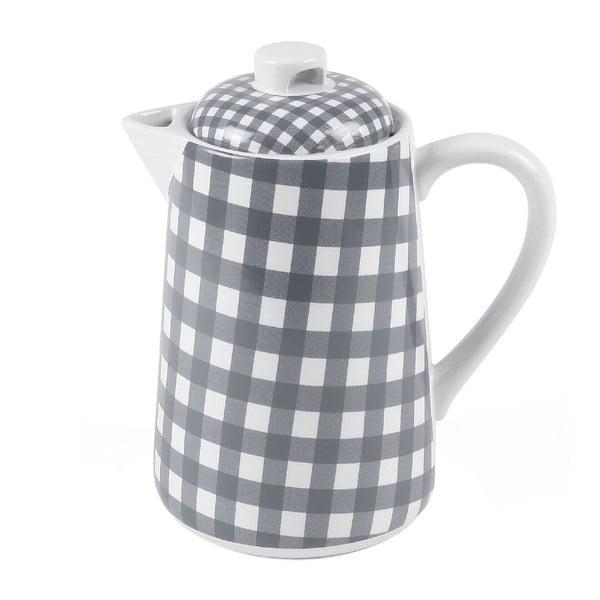 Konvice na čaj, 1,5 litru, šedá