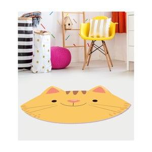 Dětský vinylový koberec Floorart Kočka, 120 x 150 cm