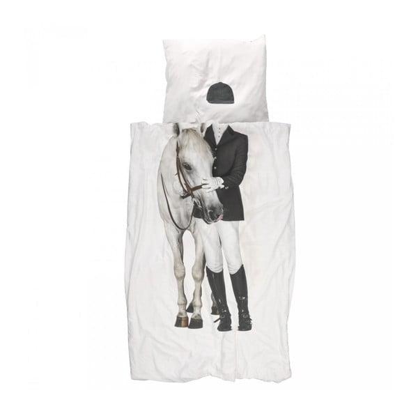 Bawełniana pościel jednoosobowa Snurk Amazone 140x200 cm