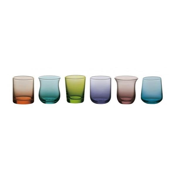 Sada 6 sklenic na vodu Desigual Colore
