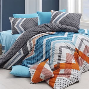 Lenjerie de pat cu cearşaf Kerry, 200 x 220 cm