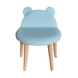 Stolička Happy Barok Animals, modrá