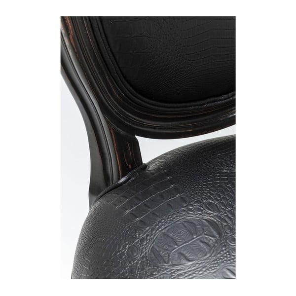Sada 2 černých židlí Kare Design Croco