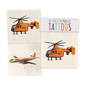 Set 2 tatuaje temporare Rex London Vintage Transport