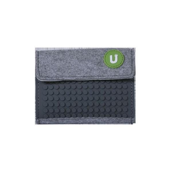 Pixelová peněženka grey/grey