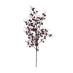 Dekorace J-Line Berries Burgundy
