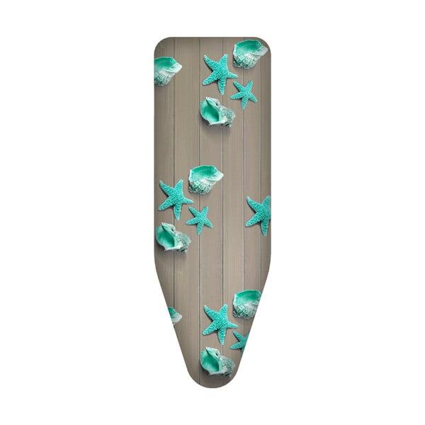 Potah na žehlící prkno Colombo New Scal New Design Wood, 124x48 cm