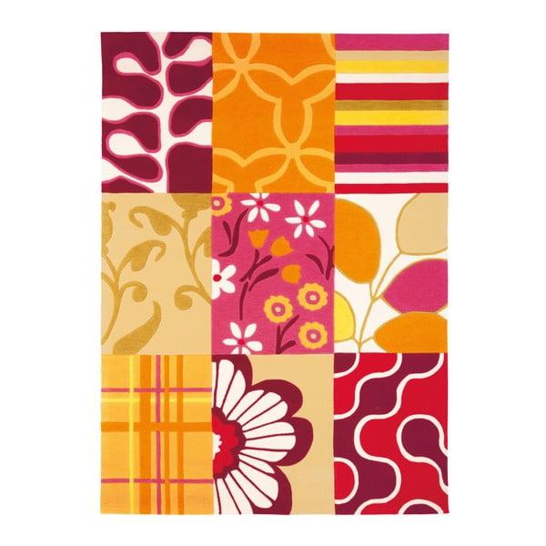 Ručně tkaný koberec Joy Pattern, 140x200 cm